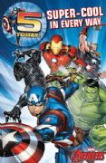 Avengers Age 5 Birthday Card with Badge